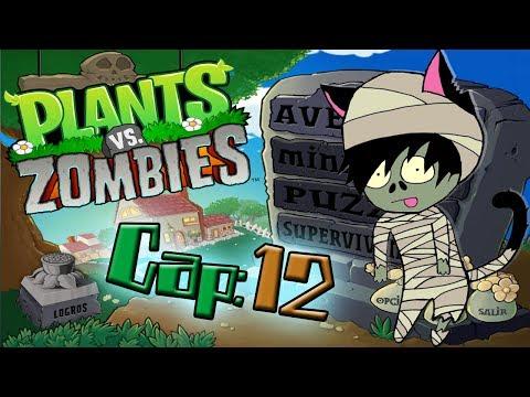 """Plantas VS Zombies Cap:12 / """"La piscina de noche es mas sexy"""" thumbnail"""