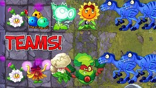 BATTLEZ Dazey Chain New Premium Plants Gameplay Plants vs Zombies 2 New Update with Dino