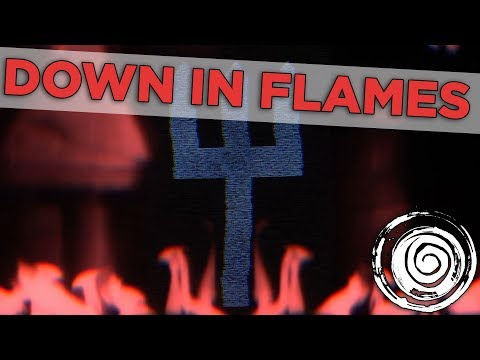 Blue Stahli - Down In Flames (Official Lyric Video)