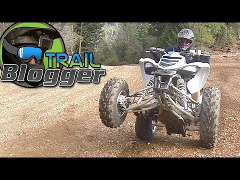 Yamaha Raptor 700 YFZ450 Banshee 350 Four Wheeler Trail Riding