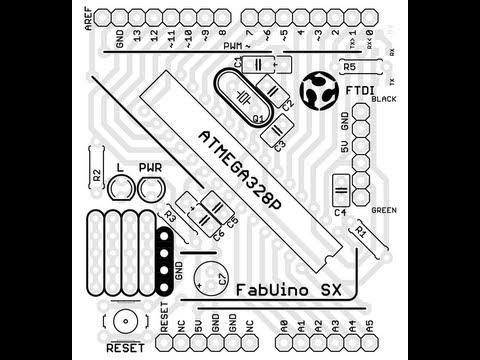 FabUino SX - First iteration