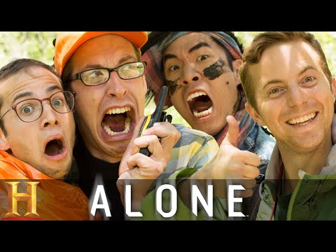 Thumbnail: The Try Guys Try Not To Die Alone