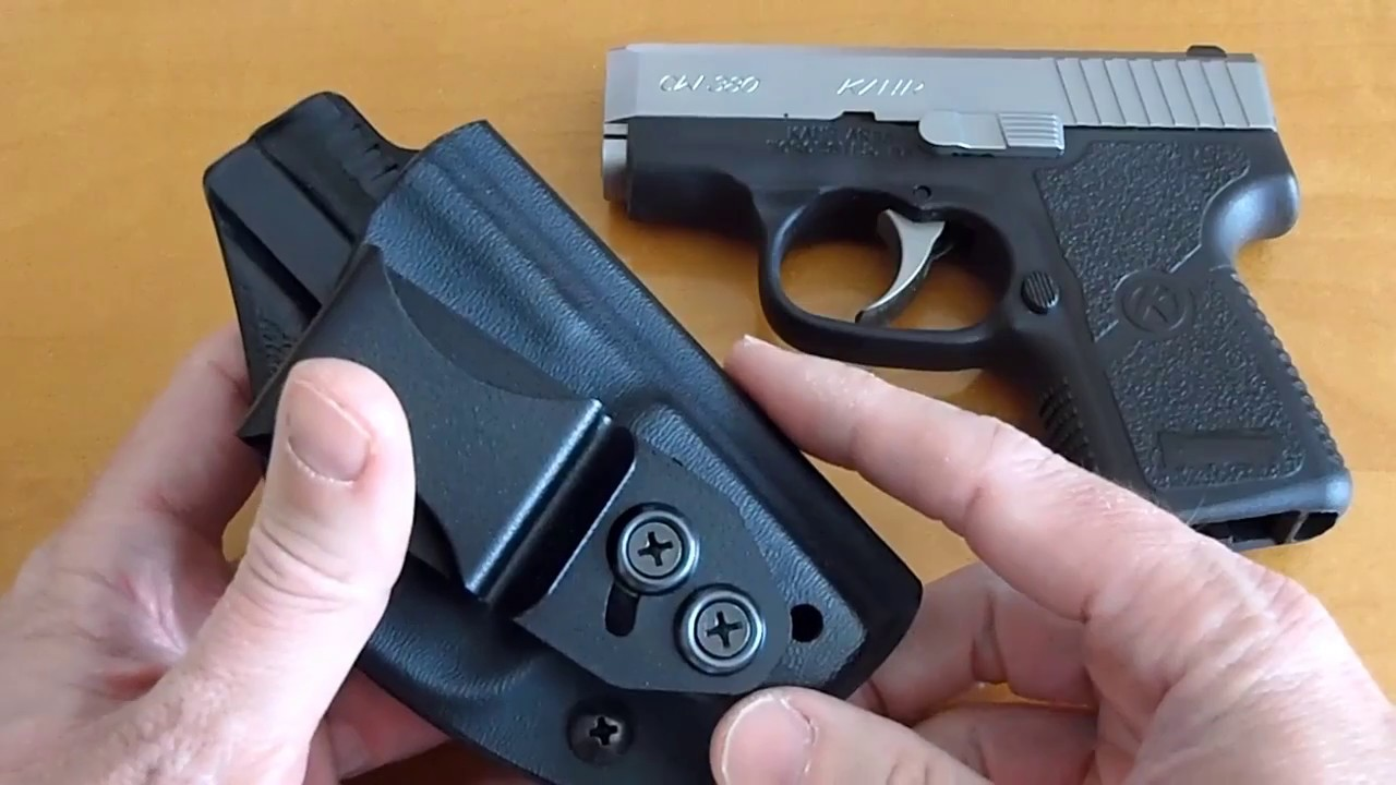 Vedder Holster Review for Kahr CW380 P380