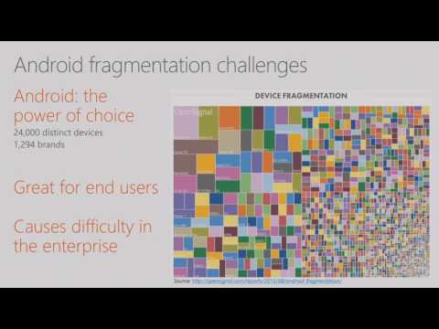 Microsoft Ignite 2016 Secure Android devices and apps with Microsoft Intune