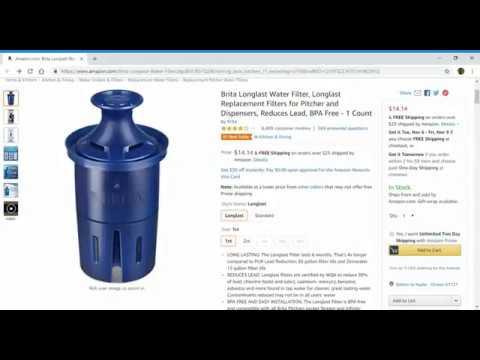 Brita Longlast Water Filter
