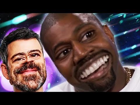 Kanye West Reaches PEAK WOKE with Jimmy Kimmel