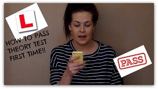 How to Pass Your THEORY Test (First Time)