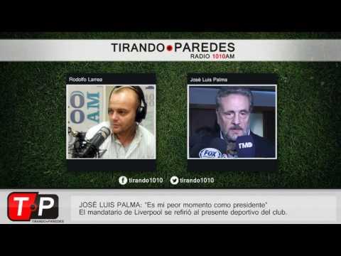 """José Luis Palma: """"Es mi peor momento como presidente"""""""