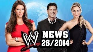 Angst um Bezahlung, Weitere Entlassung, Stephanie befördert [WWE NEWS - KW 26/2014]