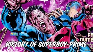 History of Superboy Prime