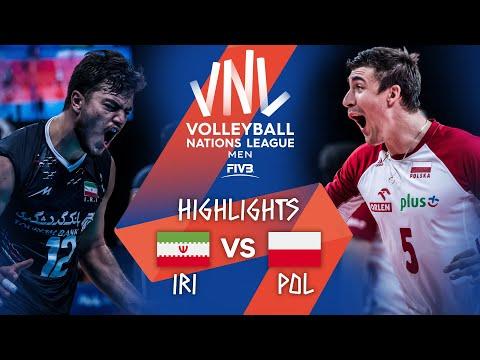 Download Iran vs. Poland - FIVB Volleyball Nations League - Men - Match Highlights, 22/06/2021