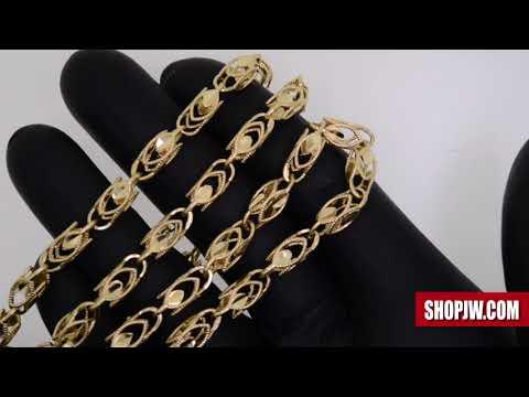 14k Gold Turkish Link Chain Jw