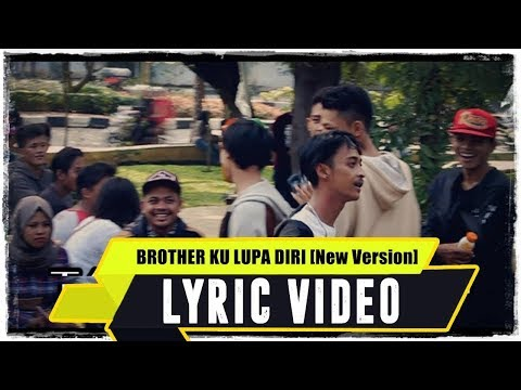 ANJAR OX'S - Brother Ku Lupa Diri [New Version] ( Lyric Video )
