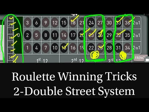 doubles betting system for roulette