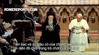 Đức Giáo Hoàng cầu nguyện với các lãnh đạo Kitô giáo cho hòa bình thế giới
