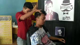 Evolutions Barber: Head Massage After Haircut - ASMR Video