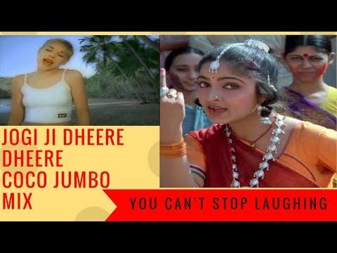 Coco Jambo Jogi Ji Dheere Dheere mix | Funniest FUSION YOU EVER SEEN