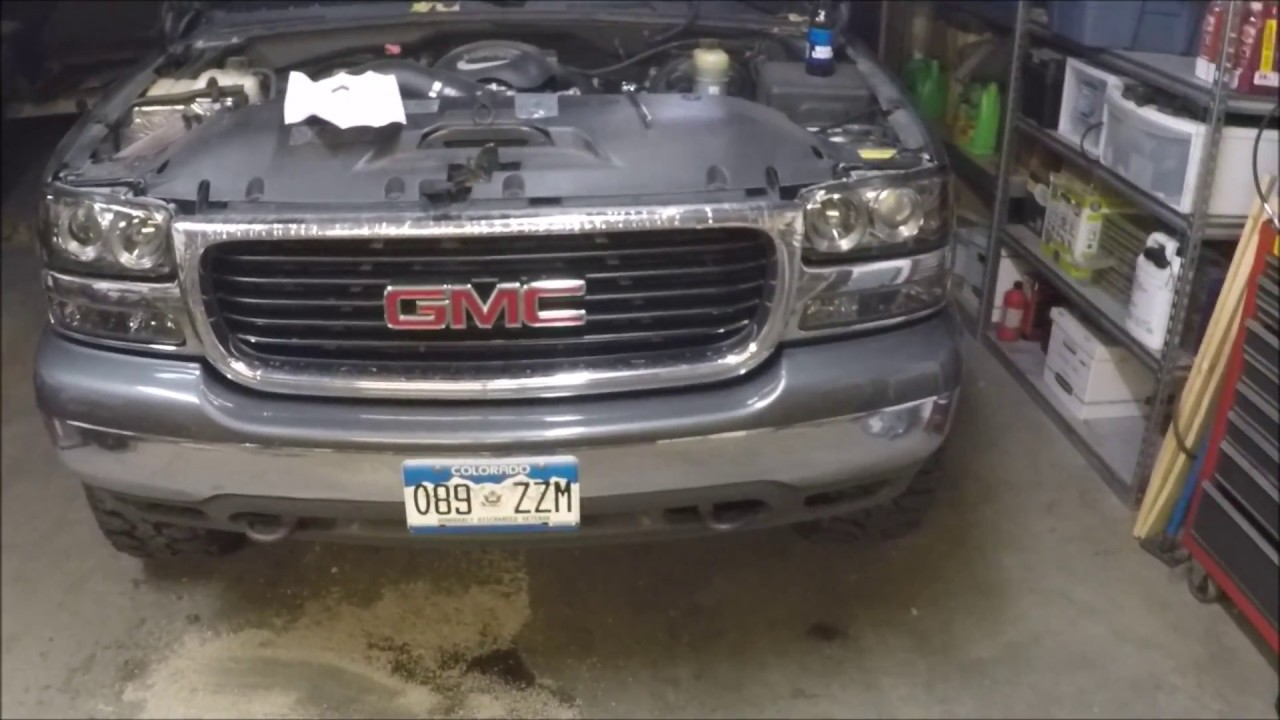 99-02 Chevy Gmc 4 High Headlight Mod