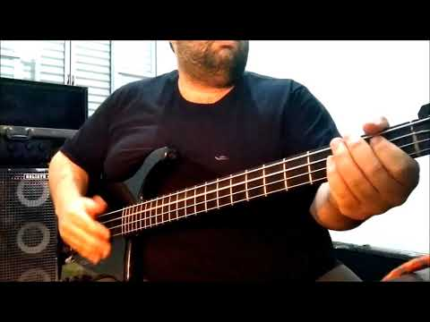 "Acid Jazz "" Kubicki factor 9v  Bass line """