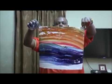 Official World Record World's Fastest Painter