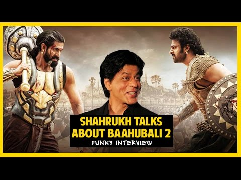 Baahubali 2 Reaction & Review | Shahrukh Khan | Funny Interview Spoof | Hindi Comedy | Anmol Sachar