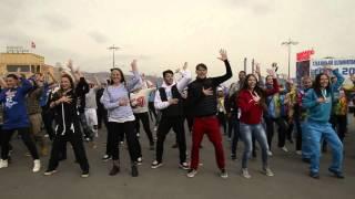 Flashmob Olympic Park Sochi 2014(http://vk.com/room41 http://instagram.com/room41_kamchatka Флешмоб в Олимпийском парке Сочи 2014, посвященный дню волонтеров, в котором..., 2014-02-23T11:07:55.000Z)