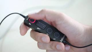 видео Jabra Evolve 65 UC Stereo Проводная гарнитура