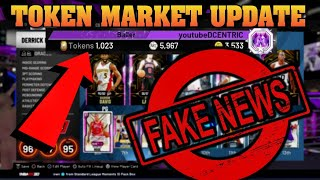 21 CARDS AWAY FROM 2000 TOTAL COLLECTED IN NBA 2K20 MYTEAM! NO TOKEN MARKET UPDATE SOON
