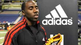 C.J. Spiller Reviews the adidas adiZero 5-Star Football Cleat
