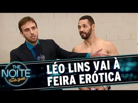 The Noite (20/04/16) Léo Lins Vai à Feira Erótica
