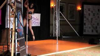 Miss Texas Pole Dance Competition 2011 - Final - E.T.