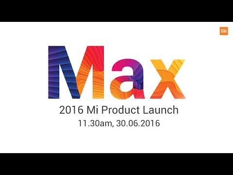 2016 Mi Max & MIUI 8 Product Launch Event