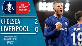 Gambar cover Chelsea hand Liverpool another defeat to reach the quarterfinals | FA Cup Highlights