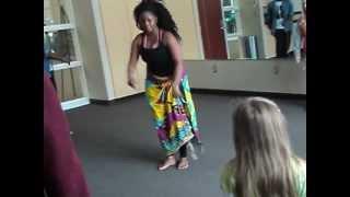 UDD edna stevens dance course II St.Paul Library showcase