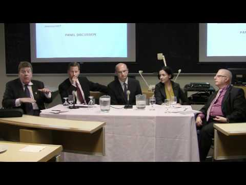 Eurozone Crisis -- Panel Discussion at Schulich School of Business, Toronto