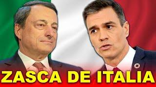 GOLPE de Italia a Pedro Sánchez