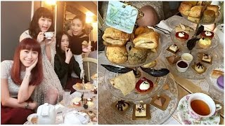[Ep.1] 女生們的下午茶約會 ♡ Afternoon Tea Gathering | The Tea Room by Antique Patisserie