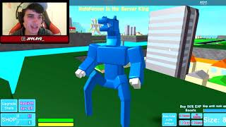 I TURNED INTO A CREEPY MONSTER IN ROBLOX!