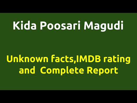 Kida Poosari Magudi  2016 movie  IMDB Rating  Review   Complete report   Story   Cast