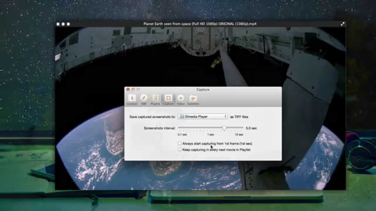 How To Screenshot Video On Mac Elmedia Player