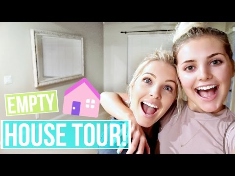 EMPTY HOUSE TOUR! My Childhood Home!