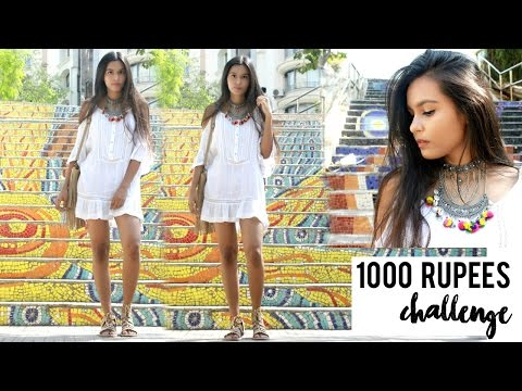 Rupees 1000 Shopping Challenge | Colaba Causeway & Hill Road
