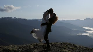 Erin and Kevin's Mountain Top Elopement