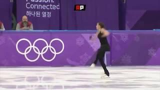 Фантастическая серия из пяти тройных прыжков Алины Загитовой на тренировке