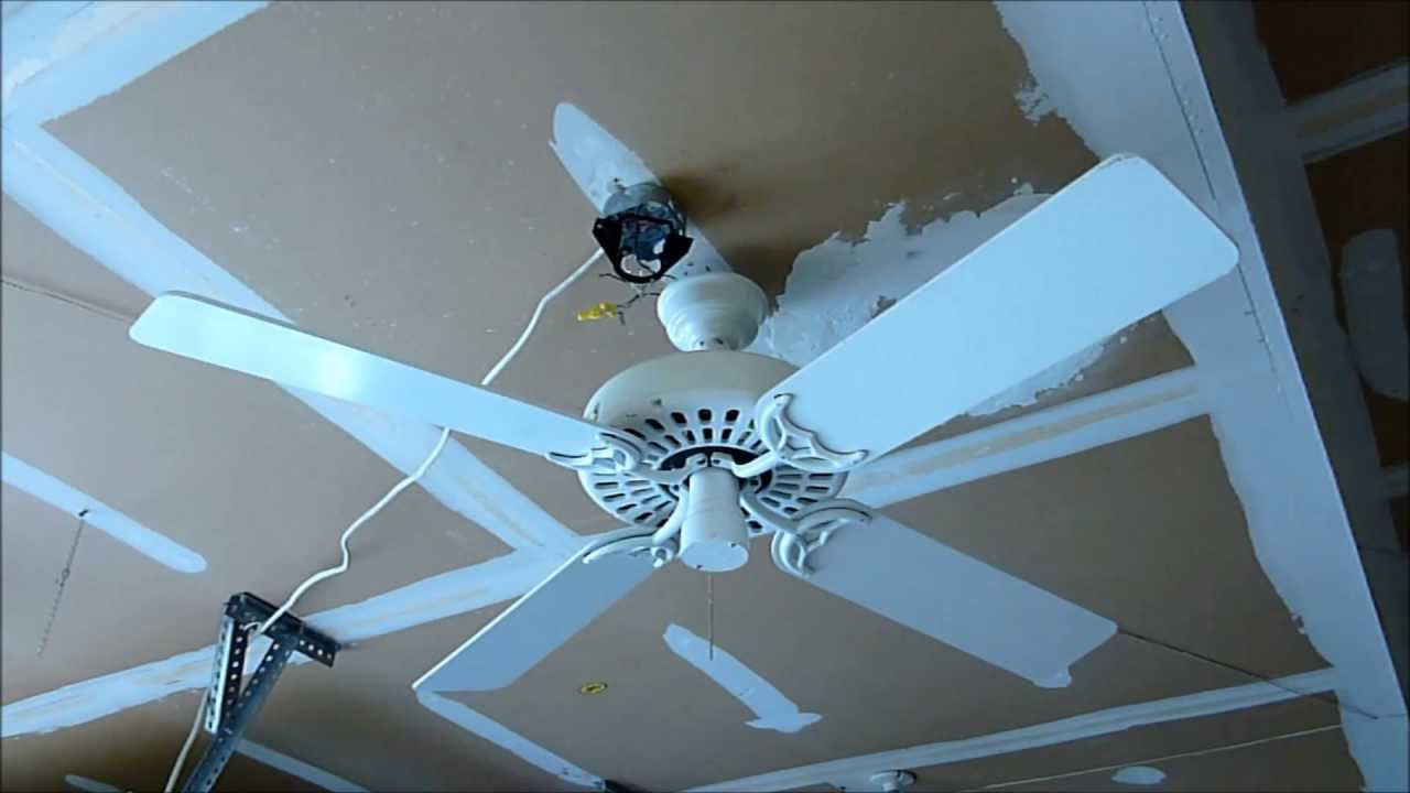 Hunter Original Ceiling Fan Youtube