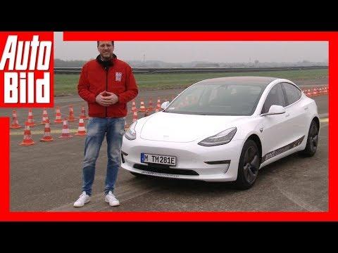 Tesla Model 3 (2018) Erste Fahrt/Erklärung