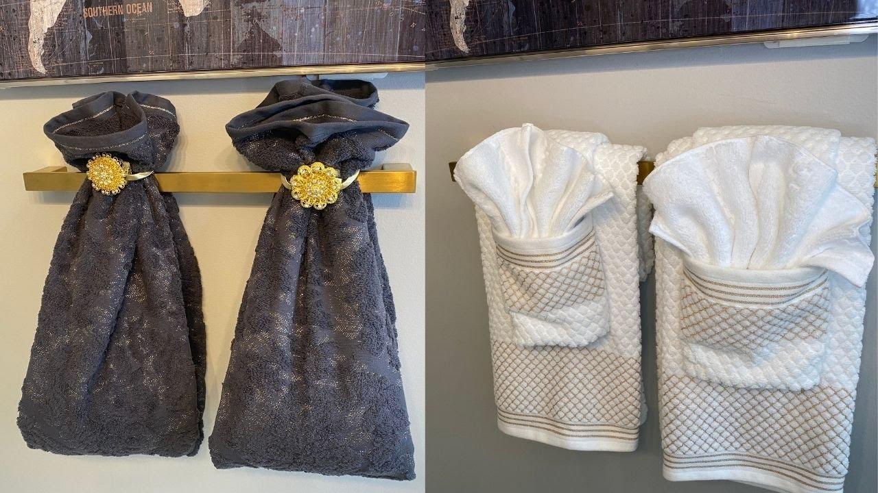 Towel Folding Ideas For Bathroom, Bathroom Towel Designs