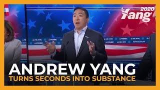 #MSNBCfearsYang | Andrew Yang at the Atlanta Debate