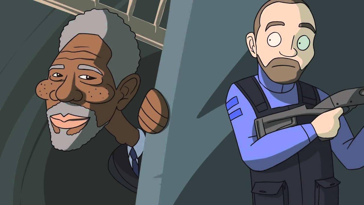 Seannaners Morgan Freeman I Can Smell You Youtube