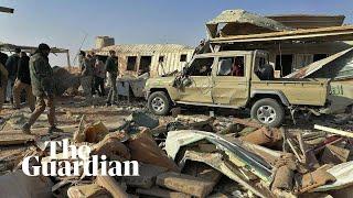 Aftermath of US airstrike on Kata'ib Hezbollah militia in Iraq